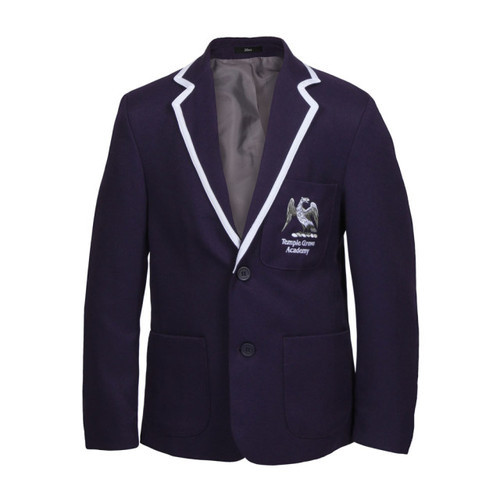 c905857f6 Blue And White Cotton Boys School Blazer, Rs 700 /piece, Super ...