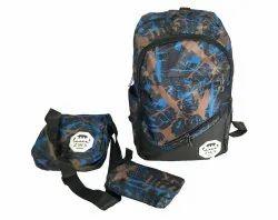 Multicolor Men Backpack