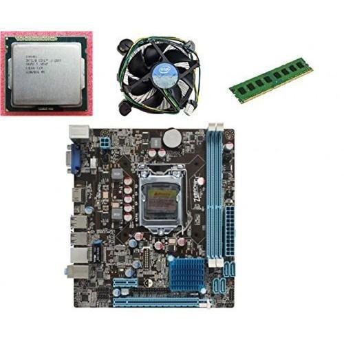 Kharidiyebasic Zebronics Motherboard Combo H61 Chipset Motherboard