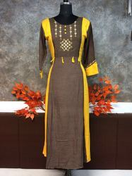 Cotton Stitched Kurti