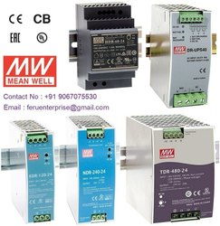 Meanwell Din Rail AC to DC Converter