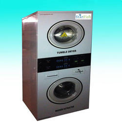 Automatic 12 kg Industrial Stack Washing Machine
