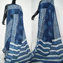 Dabu Block Printed Saree