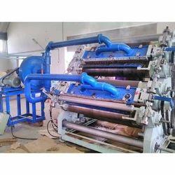 Fingerless High Speed Double Profile Corrugation Machine
