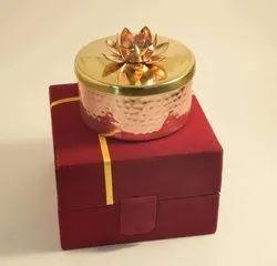 Dryfruit Jar Metal Gift For New Year