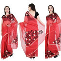 Fancy Work Saree