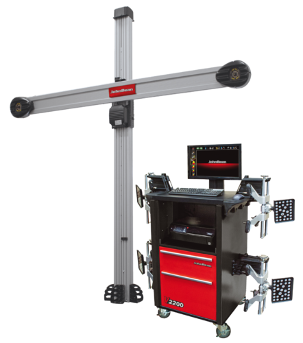 Johnbean V3D Wheel Alignment Machine at Rs 500000 /piece | 3d Wheel ...