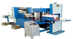 Double Colour Single Embossing Napkin Making Machine