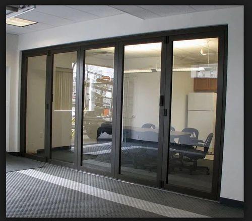 Aluminum Partition Door पार्टीशन डोर विभाजन द्वार D