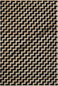 Chevron Rectangular Jute Area Rugs