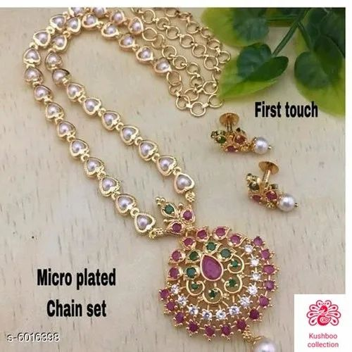 Trendy Women's Jewellery Sets at Rs 750/piece | Jewelry Set, गहनों का सेट -  Khushboo Collection, Bhopal | ID: 22293818355