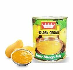 840 gm Mango Pulp Kesar
