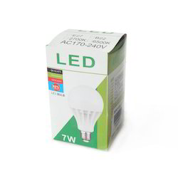 Multicolor Led Bulb Packaging Box Property Recyclable