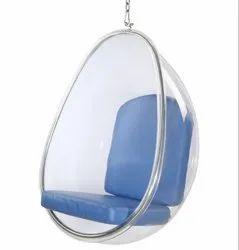 Acrylic Transparent Egg Shape Swing