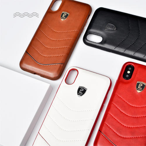 new arrival e052d f24d0 Puloka Leather Case For Iphone X