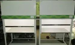 Vertical laminar air cabinet