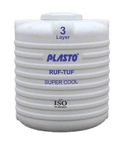 White Plasto Water Tank Rs 4 30 Litre Kalpataru Marketing Id 16280928891