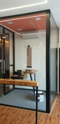 Glass Partition of Office