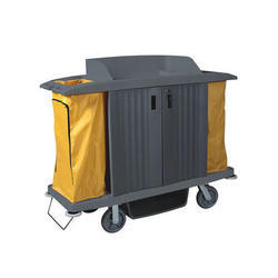 Plastic Housekeeping Trolley