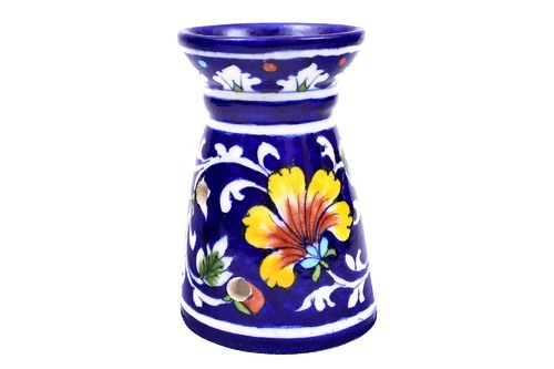 Blue Aroma Diffuser Blue Pottery, For Promotional Use