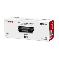 Black Canon Monochrome Laser Cartridge