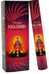 Aromatika Hexa Pack Incense Stick-20 Sticks Yoga Chakra