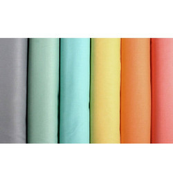 Cotton Plain Dyed Cambric Fabric