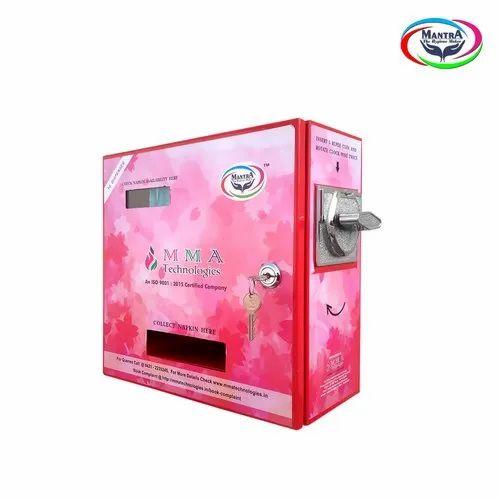 Sanitary Pad Dispensing Machines - Coin Operated Sanitary