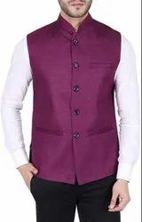 Nehru Jacket (Purple)