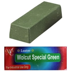 Green Luster Buffing Soap, For Metal, Packaging Size: 1200gm 15 Pcs@box
