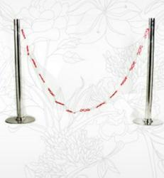 SS Chain Barriers Queue Stand