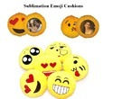 Sublimation Emoji Cushions Pillows