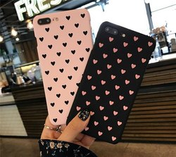 Heart Printed Cases For Couples