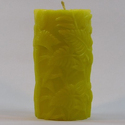 Leaf Pattern Wax Candle