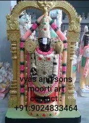 Black Stone Tirupati Balaji Sculpture