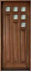 Decorative Wood Door