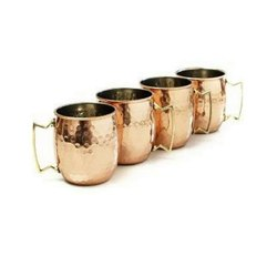 Mirror Polished Moscow Mule Copper Mug
