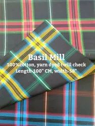 Yarn Dyed Twill Check