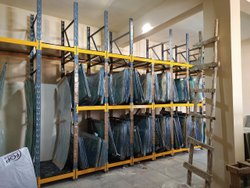 Auto Glass Storage Racks