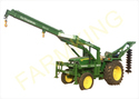 Tractor Crane with Hydraulic Electric Pole Erection Machine