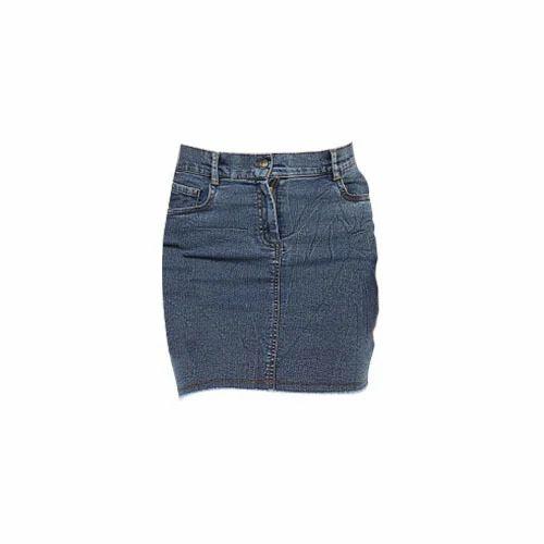 6a611d63c2 Dark Blue Girls Denim Skirts Women Indigo Denim Skirt, Rs 350 /piece ...