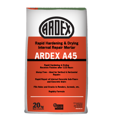 Powder Ardex A-45 Rapid Hardening Cement Mortar, Packaging Size: 20 Kg