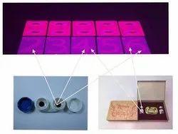 Spy Dark Purple Invisible Ink Poker Contact Lenses