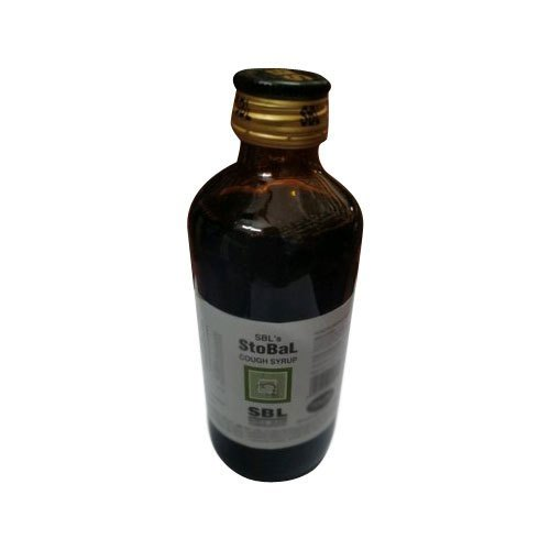 Glass SBL Homeopathic Cough Syrup for Dry Cough, Bottle Size: 180 mL