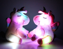 Unicorn Plush Toys Plush Light Up Toys