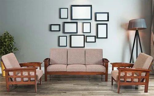 Modern Rectangular Teak Wood Sofa Set Rs 29000 Set Perfect Interior Decorator Id 21308354633