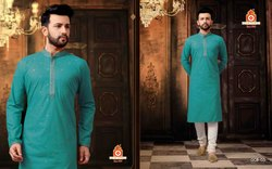 Designer Mens Kurta With Churidar