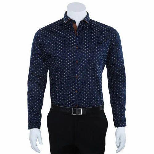 609d55e9 Men's Designer Shirt, Gents Designer Shirt, पुरुषों की ...