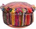 Rag Rugs Ottoman Pouf Cover