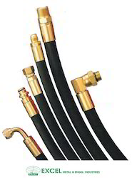 Black And Transparent Hydraulic Hose Pipe